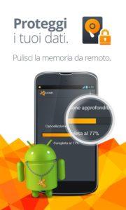 Bloccare cellulare rubato o perso su sistema Android 10
