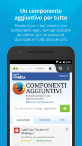 FireFox per Android 2
