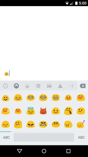 attivare le emoji su Android 1