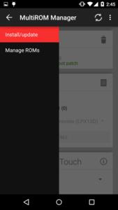 Come usare due o più rom su Android con MultiRom Manager 2