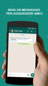 Urrà! Videochat di WhatsApp 4