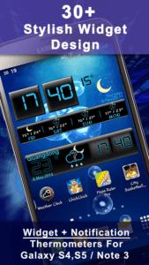 Weather Rise Clock 30+ Widgets 1
