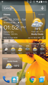 meteo android 2