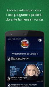 vedere la tv su smartphone e tablet Android mediaset 3