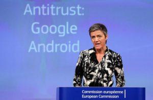 L'UE chiede 7 miliardi di Euro a Google ecco cosa ha combinato