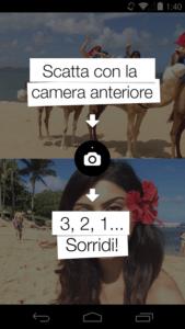 Come scattare foto con entrambe le fotocamere su Android 1