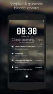 Le migliori Lockscreen per android Hi locker 1