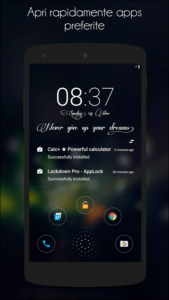 Le migliori Lockscreen per android Hi locker 3