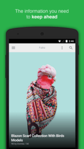 Le migliori applicazioni Android per le news Feedly your work newsfeed 1