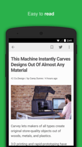 Le migliori applicazioni Android per le news Feedly your work newsfeed 3