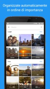Le migliori gallerie fotografiche per Android google foto 2