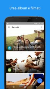 Le migliori gallerie fotografiche per Android google foto 4