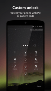 Le migliori lockscreen per Android Next Lock Screen 1