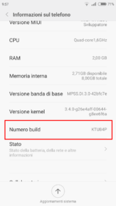Come attivare le opzioni di sviluppatore su Android 2