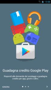 come guadagnare con Google Opinion Rewards 1