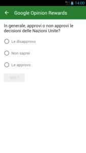 come guadagnare con Google Opinion Rewards 3