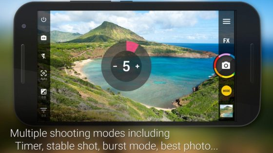 le migliori applicazioni fotocamera per Android camera zoom 3