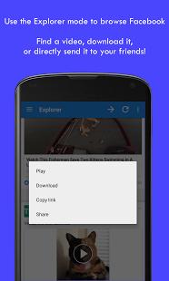 Come scaricare i video da Facebook con Android video downloader per facebook 2