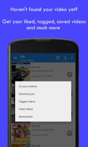 Come scaricare i video da Facebook con Android video downloader per facebook 3
