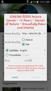 Come scaricare musica da youtube con Android 3