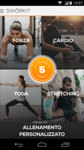 Sworkit il personal Trainer per Android 1