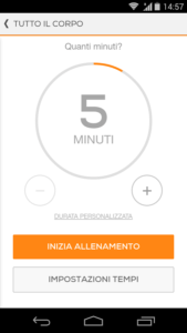 Sworkit il personal Trainer per Android 3