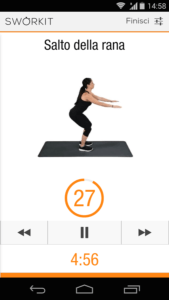 Sworkit il personal Trainer per Android 4