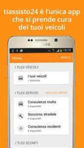 Tiassisto24 l'app Android che si prende cura del tuo veicolo 1