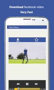 scaricare i video da Facebook con Android downloader video face for fb 3