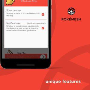 Le migliori applicazioni Android per trovare i Pokemon su Pokèmon Go PokèMesh 1