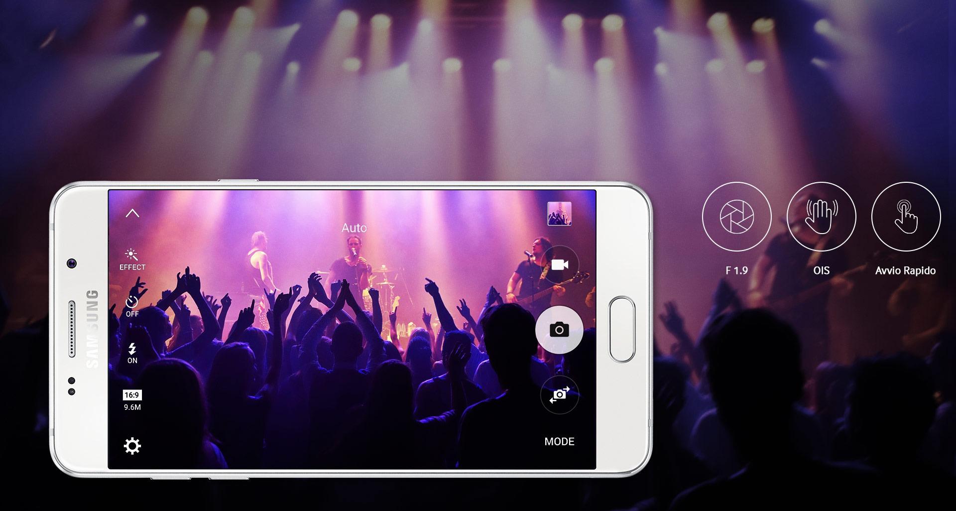 Recensione Samsung Galaxy A5 2016 foto