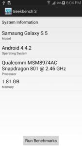 Scopri quanto è veloce il tuo Android con Geekbench 3 1