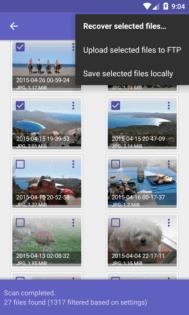 Come recuperare le foto cancellate su Android DiskDigger photo recovery 3