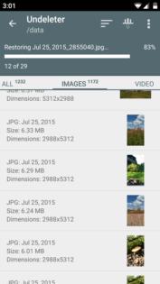 Come recuperare le foto cancellate su Android Undeleter Recover Files e Data 3