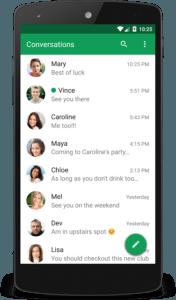 Le migliori Applicazioni Android per inviare SMS chomp sms 1