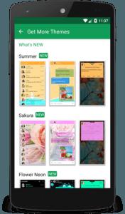 Le migliori Applicazioni Android per inviare SMS chomp sms 3