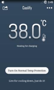 Lo smartphone si surriscalda Prova Coolify per Android 1
