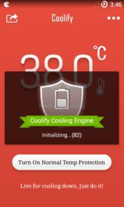 Lo smartphone si surriscalda Prova Coolify per Android 2