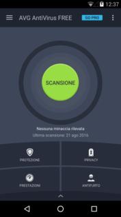 Migliori antivirus Android AVG Antivirus Gratis (Android) 1