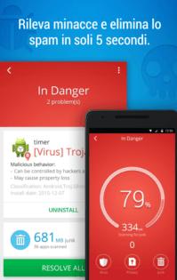 Migliori antivirus Android CM Security AppLock Antivirus 2