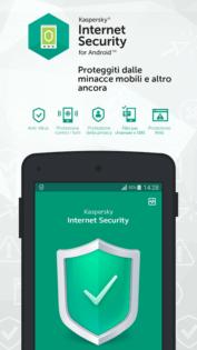 Migliori antivirus Android Kaspersky Antivirus & Security 2