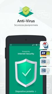 Migliori antivirus Android Kaspersky Antivirus & Security 3