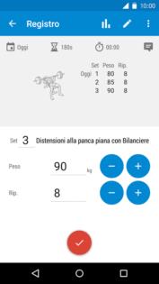 Tieniti in forma con le migliori applicazioni per il fitness per Android GymRun 1
