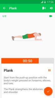 Tieniti in forma con le migliori applicazioni sul fitness per Android sfida fitness 30 giorni 2