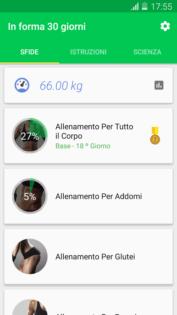 Tieniti in forma con le migliori applicazioni sul fitness per Android sfida fitness 30 giorni logo 1