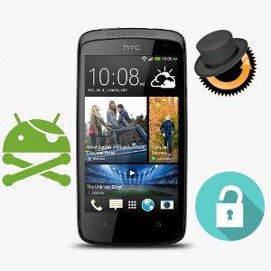 Come sbloccare il Bootloader, installare la CWM e ottenere i permessi di ROOT su HTC Desire 500
