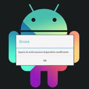 Cosa fare quando usando il Google Play appare il messaggio di spazio di archiviazione insufficiente anche se non è vero